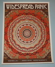 Widespread Panic Nate Duval Boston Concert Poster Print Signed & Numbered 2013