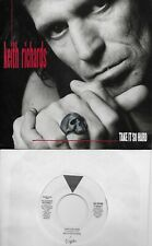 KEITH RICHARDS  Take It So Hard  rare promo 45 with PicSleeve  ROLLING STONES