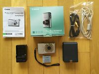 Canon PowerShot DigitalELPH SD1300 IS 12.1 MP Digital Camera - Silver