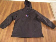 Supreme Champion Pullover Parka Jacket Size XL Black SS18J7 SS18 Brand New NWT
