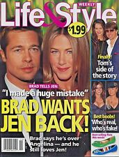 LIFE & STYLE WEEKLY MAGAZINE May 7, 2007 5/7/07 BRAD PITT JENNIFER ANISTON A-2-1