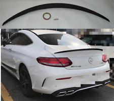 Aleron Mercedes Benz CLASE C COUPE C205 DESDE 2015  NEGRO BRILLO SPOILER