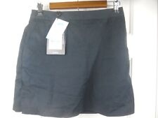 NWT Adidas Women's Skort Skirt/Shorts Sz 2 Black Stretch