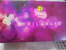 ZUMBA  FITNESS EXHILARATE 20-MINUTE WORK OUT TAPE  BODY SHAPING SYSTEM COMPLETE
