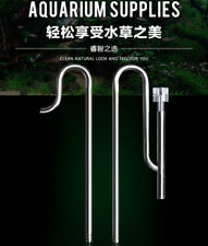 Stainless Steel aquarium lily pipe inflow outflow surface skimmer 16/22 12/16
