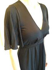 Size 1  8 10 LEONA EDMISTON FROCKS LBD - Versatile black designer dress
