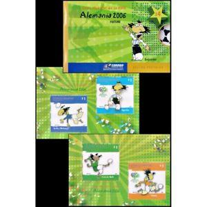 ARGENTINA/STAMPS,2006 -SOCCER-WPORLD CUP GERMANY 2006 -BOOKLET.MNH
