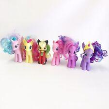 "My Little Pony G4 MLP 6 Figure Set Fashion Style 6"" Lot A4"