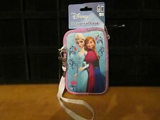 AUTHENTIC DISNEY FROZEN ELSA & ANNA IPOD 5 TOUCH,CAMERA UNIVERSAL CASE **SALE*