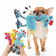 Interactive Chew Toys for Dogs Indestructible Stuffed Squeaky Toy Sound Squeaker