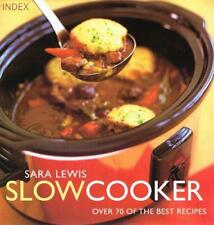 Slowcooker : by Sara  Lewis, Good Used Book (Hardcover) FREE & FAST Delivery!