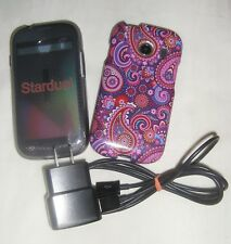 Prepaid TRACFONE Samsung Galaxy 4 Stardust Android Smartphone S766C  preowned