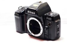 Nikon F801 35mm SLR Film Camera  Silver Body Only