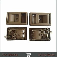 For Toyota Tacoma 4Runner Inside Left Right Side Brown Door Handle 95-00 1Set