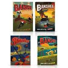 BANSHEE TV SERIES CINEMAX COMPLETE 4 SEASON POSTER SET