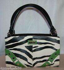Miche Classic Purse SHELL ONLY Fits Classic Bag ZOE GREEN Black White Zebra