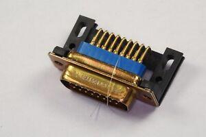 M24308/24-74F Positronic High Density D-Sub Plug Male RA 26 Pos Mounting Bracket