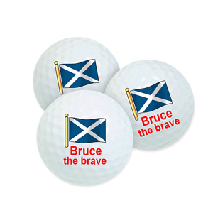 Best Impressions Personalised Golf Balls Different Packs and Types Brand New