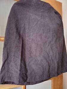 Rohan Size 18 Blue Linen Plus Skirt