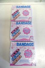 KIDS BANDAGES  SOFT, FLEXIBALE PLASTIC--FAMILY PACK OF 50--LOT OF 3