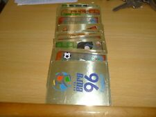 MERLIN EURO 1996 FOIL STICKERS....LOADS AVAILABLE
