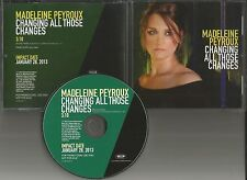 MADELEINE PEYROUX Changing al those Changes PROMO DJ CD single BUDDY HOLLY trk