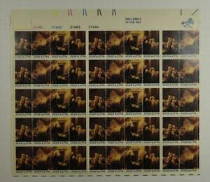US SCOTT 1691 - 1694 PANE OF 50 JULY 4,1776 STAMPS 13 CENT FACE MNH