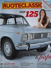 Ruoteclassiche n°267 2011 Fiat 125 Jaguar Story Alfa Romeo 155 2.5 V6 [P51]