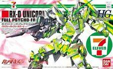 HG RX-0 Unicorn Gundam Destroy Mode kit model SEVEN-ELEVEN Ltd 1/144 hguc 7-11