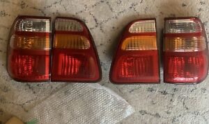 ✅ OEM 01 Toyota Land Cruiser Tail Lights Full Set