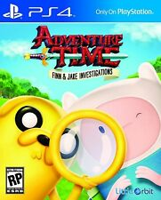 Adventure Time Finn and Jake Investigations PS4 PlayStation 4 Video Game