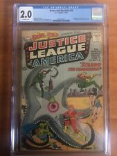 Brave and the Bold #28 CGC 2.0 1st App of Justice League of America DC Comics