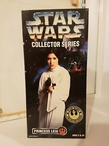 """New sealed STAR WARS COLLECTOR SERIES 12"""" PRINCESS LEIA ORGANA A NEW HOPE"""