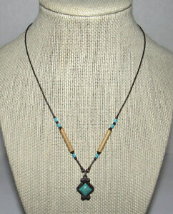 5 Star Sterling Liquid Silver Turquoise Pendant Necklace Dainty Petite Southwest