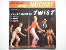 Johnny Hallyday 45Tours EP vinyle Viens Danser Le Twist