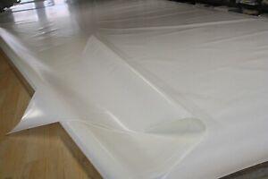 LKW Plane Abdeckplane PVC Folie Holzplane Regenschutz 900gr/m² weiß 2,50m/7,60m