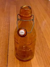 vintage glass bottle - milk bottle