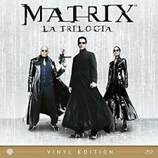 Matrix 3 Blu Ray Trilogia in Box Vinyl Edition Reloaded Revolutions K. Reeves