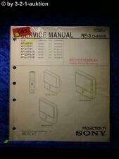 Sony Service Manual KP 48PS1 53PS1 61PS1 / K Projection TV (#0986)