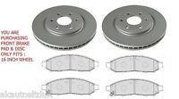 Fits NISSAN NAVARA 2.5 DCI D40 05-11 FRONT BRAKE PADS & DISCS FITS 16 INCH WHEEL