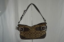 COACH 12 CM SIGNATURE BUCKLE EAST/WEST DUFFLE F19683 100% AUTHENTIC NEW WITH TAG