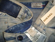 NWT$328 DIESEL KROOLEY DNA Made in ITALY W-0810V Slim Carrot Men's Jeans Sz31x32