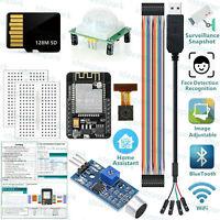 ESP32 CAM Arduino Kits Monitor Snapshot Face Detection Recognition(Tutorial)