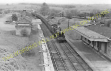East Norton Railway Station Photo. Hallaton - Tilton. Market Harborough Line (6)