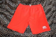 vintage 70s 80s errea red warm shorts hipster