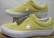 New Mens 12 Converse One Star OX Lemon Haze Suede Leather $85 158438C