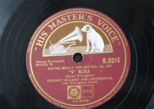 78rpm DUKE ELLINGTON jump for joy / BARNEY BIGARD c blues B 9314