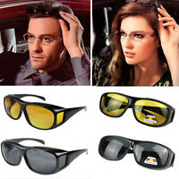 Polar-Tech Night Vision HD Driving Glasses Polarized Sunglasses UV400