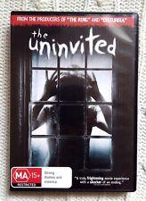 The Uninvited (DVD, 2009) REGION-4- LIKE NEW-FREE POST WITHIN AUSTRALIA