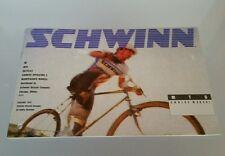1990 Schwinn Mountain Bike MTB Owners Manual